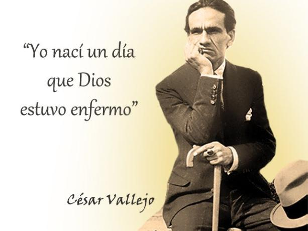 Cesar Vallejo frases