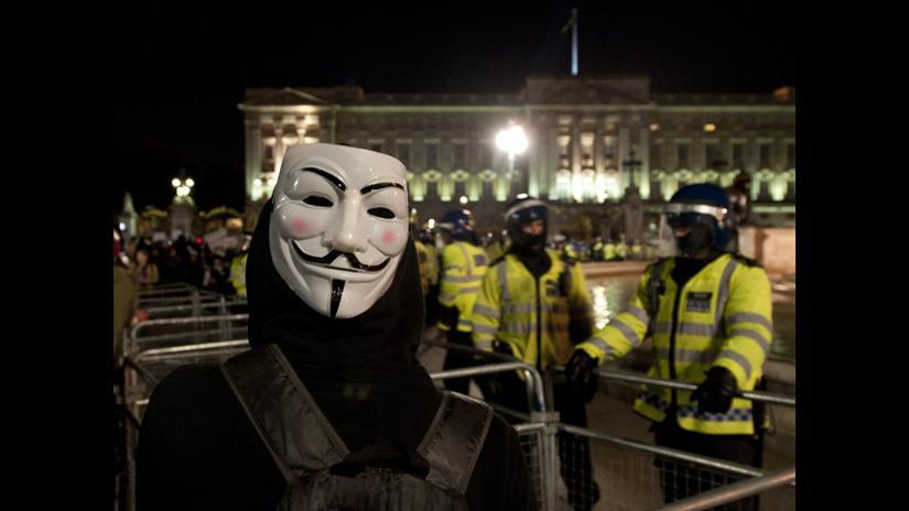 Anonymous toma calles de Londres con Marcha del Millón de Máscaras | RPP  Noticias