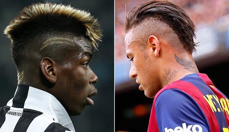 Neymar y sus cortes de pelo
