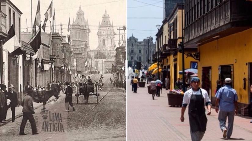 A 484 de fundación, la Lima de antaño y la de hoy en imágenes