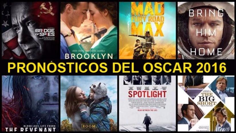 Estos son los pronósticos para los Premios Oscar 2016
