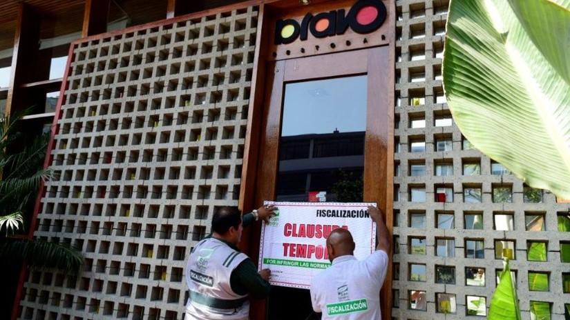 San Isidro: clausuran restaurante Bravo Restobar por insalubre