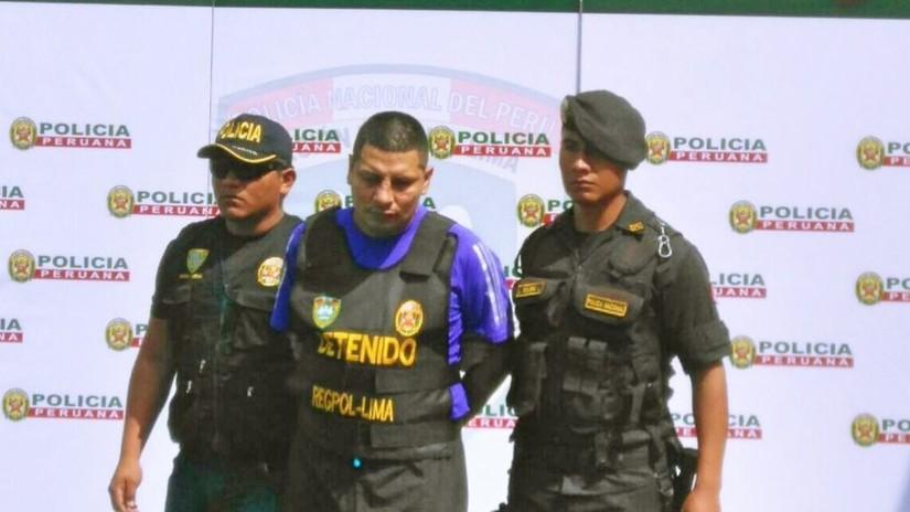 Los Malditos de Bayóvar: presentan a Loco Harry y otros 18 detenidos