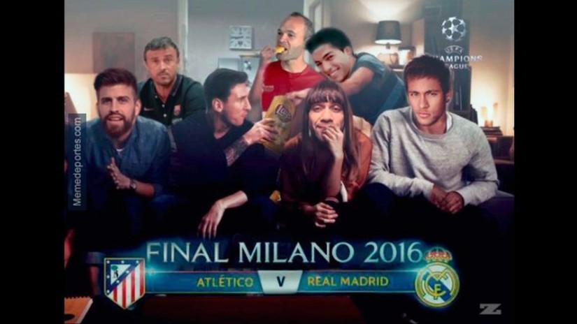 Real Madrid vs. Atlético: los memes de la final de la Champions League