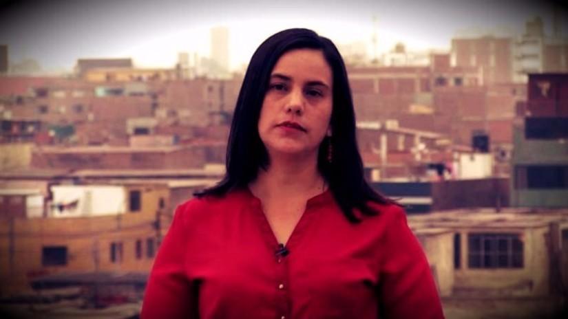 """Verónika Mendoza: """"Solo queda marcar por PPK"""""""