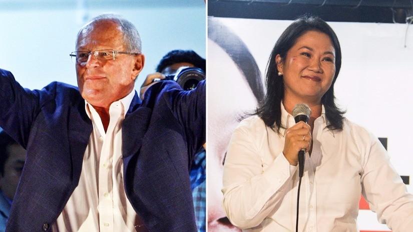 PPK mantiene su ventaja sobre Keiko Fujimori en nuevo reporte de la ONPE