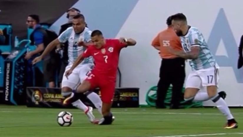 Facebook: el pie de Alexis Sánchez tras la final de Copa América