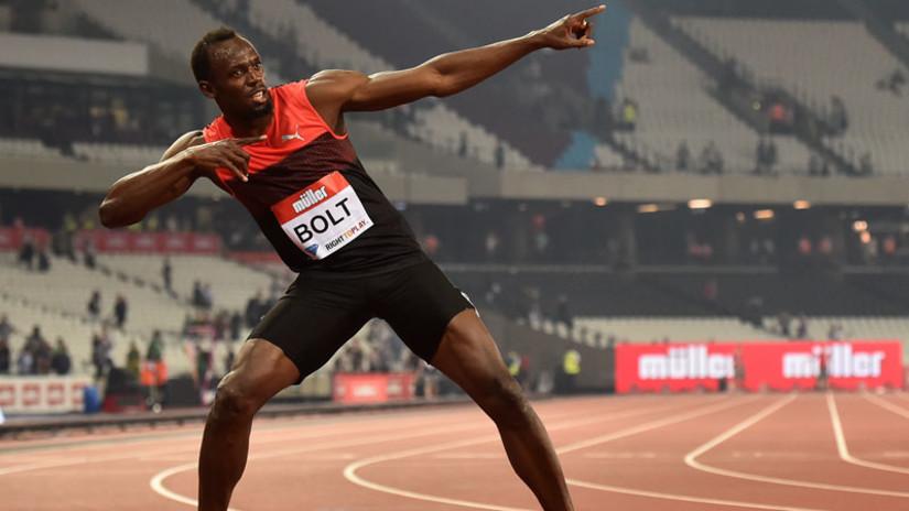 Usain Bolt demostró excelente forma a pocos días del inicio de Río 2016