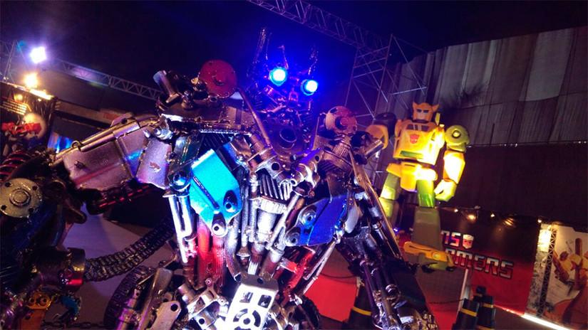 Fotos: los Transformers llegan al Perú como Animatronics