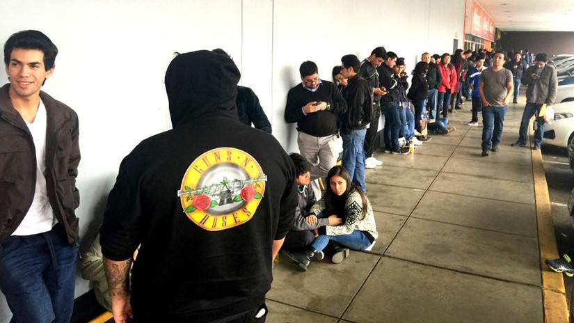 Guns N' Roses en Lima: así se vive el primer día de venta de entradas