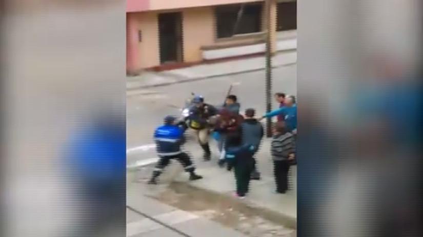 Grupo Terna y serenazgo de Barranco detienen a sujeto que vendía droga