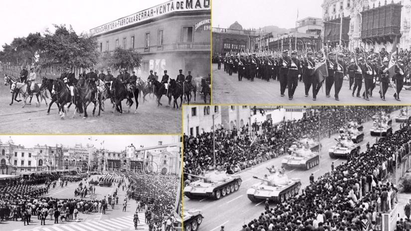 Fotos: un repaso por los cambios que tuvo la Parada Militar en la historia
