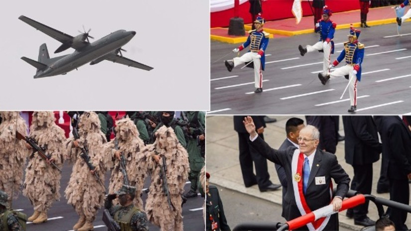 Lo mejor de la Parada y Desfile Cívico Militar en imágenes