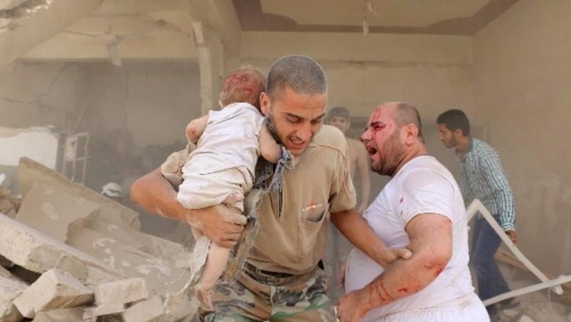 Las imágenes más desgarradoras de la guerra siria
