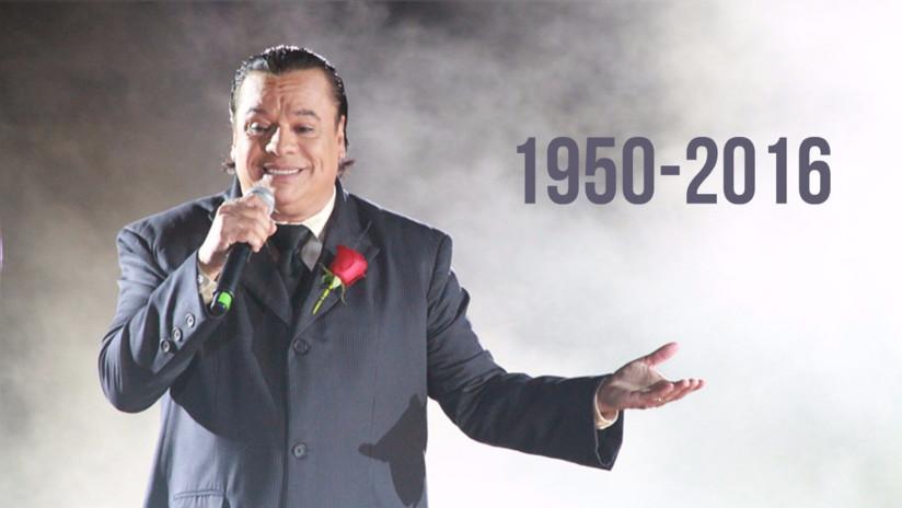 Juan Gabriel falleció en California a los 66 años