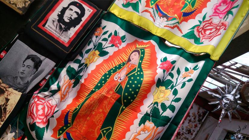 Calaveras, santas y lucha libre: el color de los mercados en México (FOTOS)