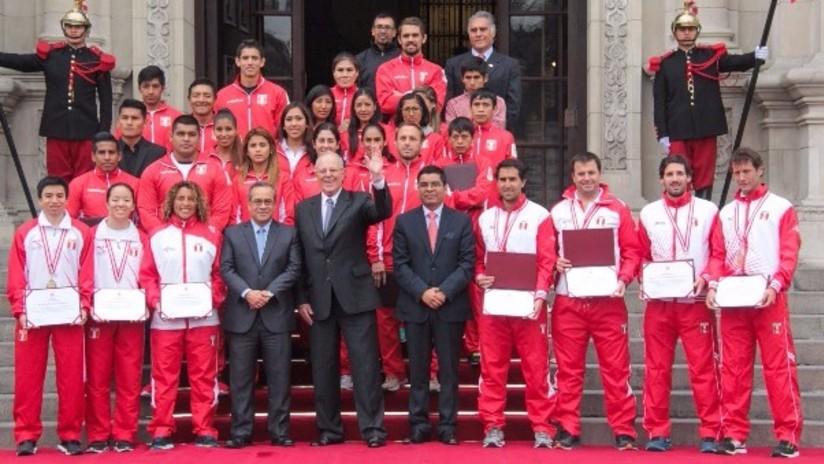 Pedro Pablo Kuczynski homenajeó a deportistas que participaron en Río 2016