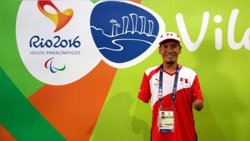 Efraín Sotacuro recibió a su mamá en Río de Janeiro previo a los Juegos Paralímpicos