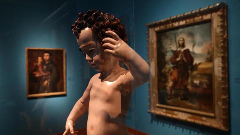El MALI expone tres siglos de pinturas de la Escuela Cusqueña del Perú colonial