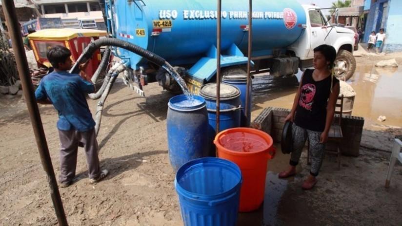 La falta de agua potable afecta a 8 millones de peruanos