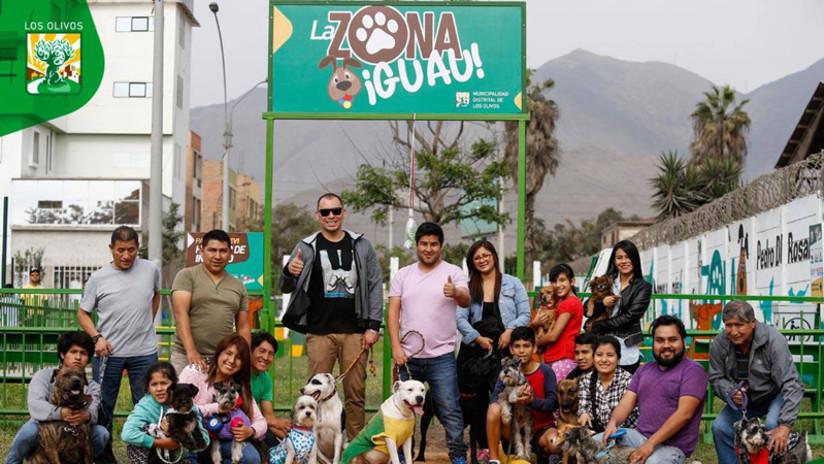 Parque para perros en Los Olivos