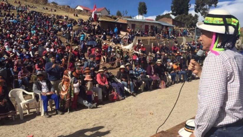 Gobierno propone tregua de 45 días para resolver demandas en Cotabambas