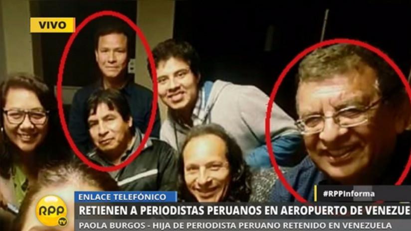 Retienen a cuatro periodistas peruanos en Venezuela