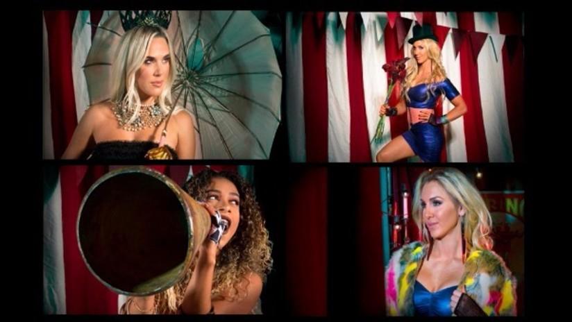 Divas de la WWE festejan Halloween disfrazándose de brujas