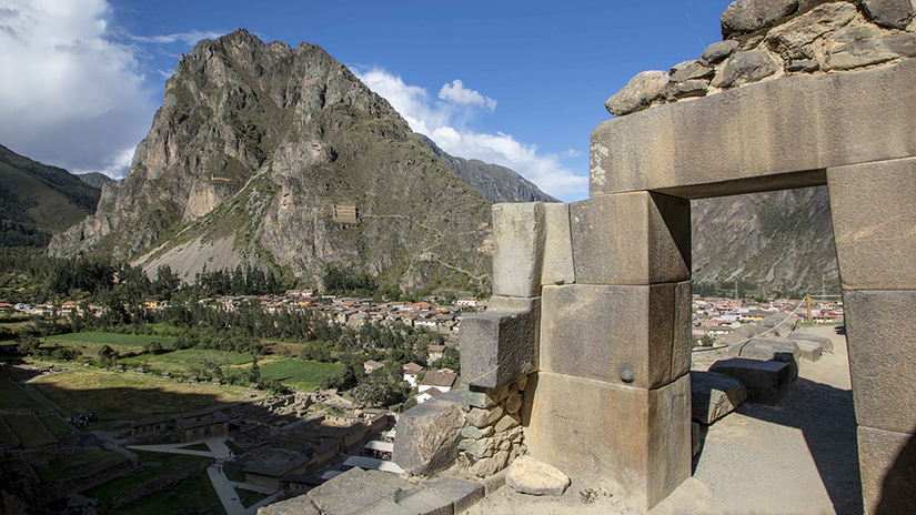 Ollantaytambo, Ciudad Inca