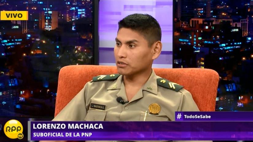 Suboficial que abatió al asesino de Independencia: