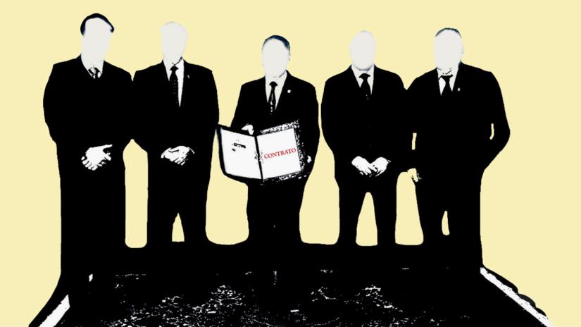¿Quiénes firmaron los contratos más importantes de Odebrecht en el Perú?