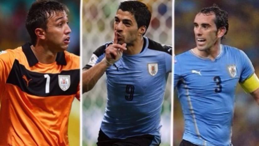 El posible 11 de Uruguay para enfrentar a Perú por las Eliminatorias