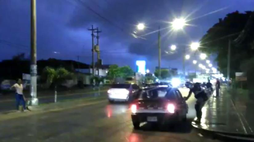 Lluvias ligeras con truenos se presentan en la ciudad de Tumbes