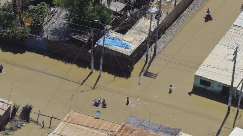 Unas 23 mil casas permanecen sin luz en la región Piura por las inundaciones