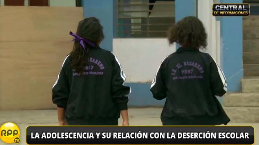 El 59% de peruanos cree que el embarazo es la causa principal de deserción escolar