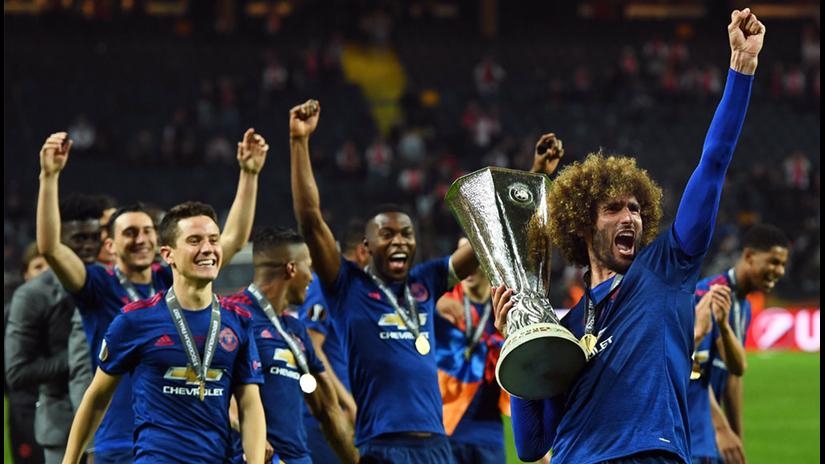 Las mejores imágenes del nuevo título del Manchester United