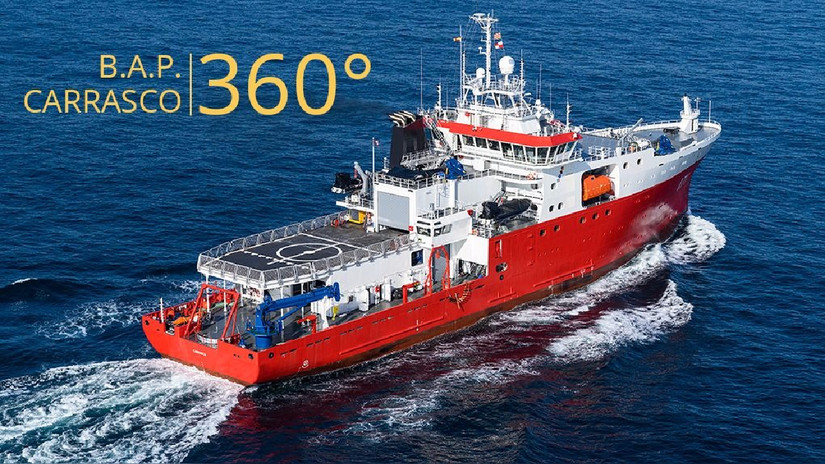 Video 360 | Conoce por dentro el Buque Armada Peruana Carrasco