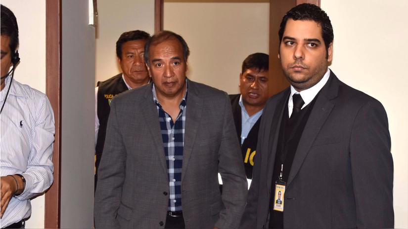 El Poder Judicial dictó 18 meses de prisión preventiva contra Jorge Acurio