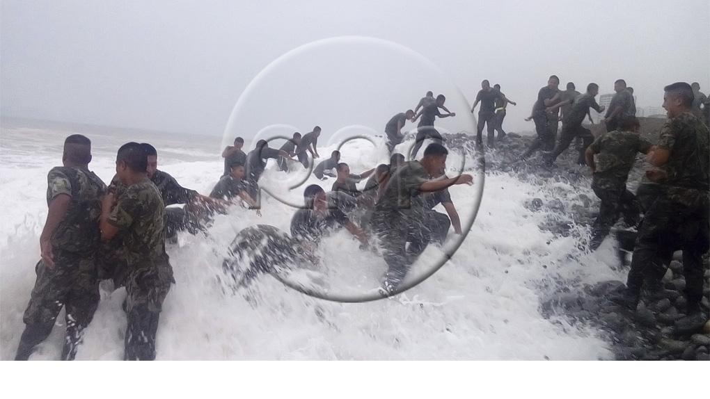 Ministerio de Defensa difunde imágenes previas a la tragedia de Marbella