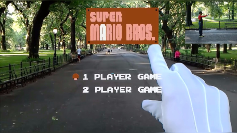 YouTube | Diseñador crea secuencia de Mario Bros en realidad virtual