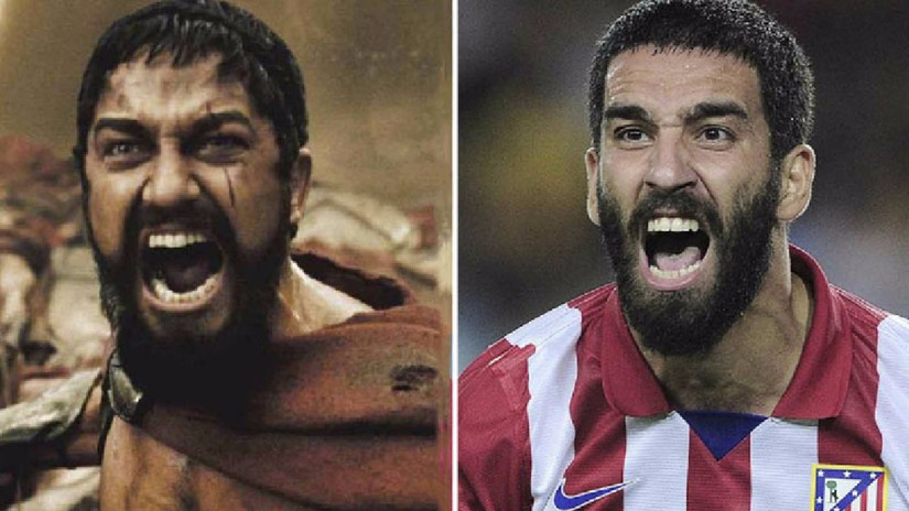 Trece futbolistas muy parecidos a actores o cantantes famosos