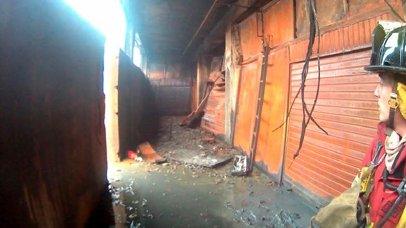 Fotos | Así quedó por dentro la galería Nicolini tras el incendio