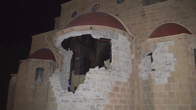 Las imágenes tras el terremoto que sacudió Grecia y Turquía