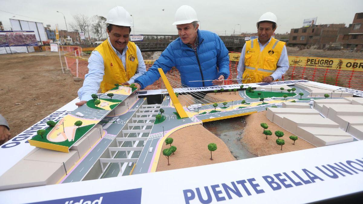 Castañeda dice que el puente Bella Unión no se ha inaugurado