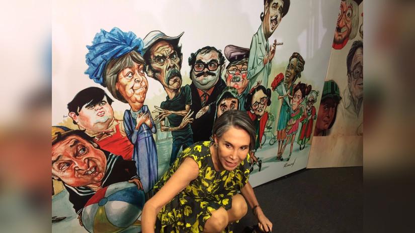 Fotos | Florinda Meza presentó exposición en homenaje a Chespirito