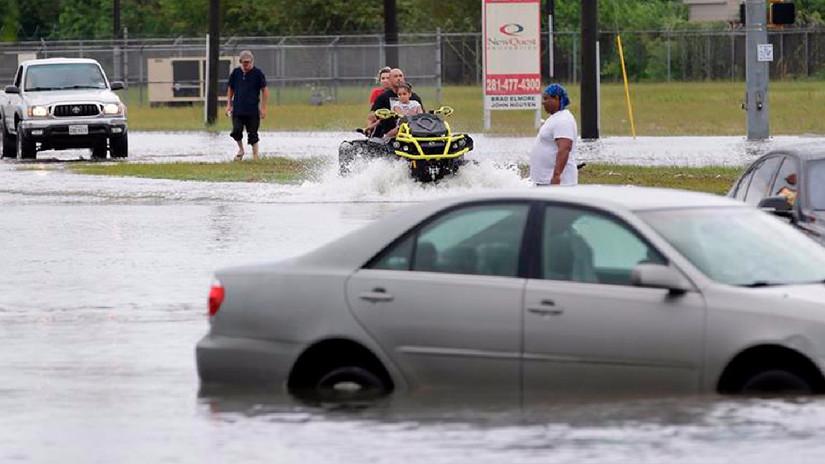 La tormenta Harvey produce inundaciones sin precedentes en Texas