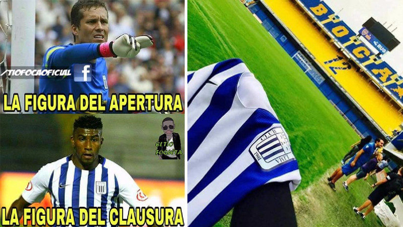 Alianza Lima le ganó 2-1 a Melgar y aparecieron los memes