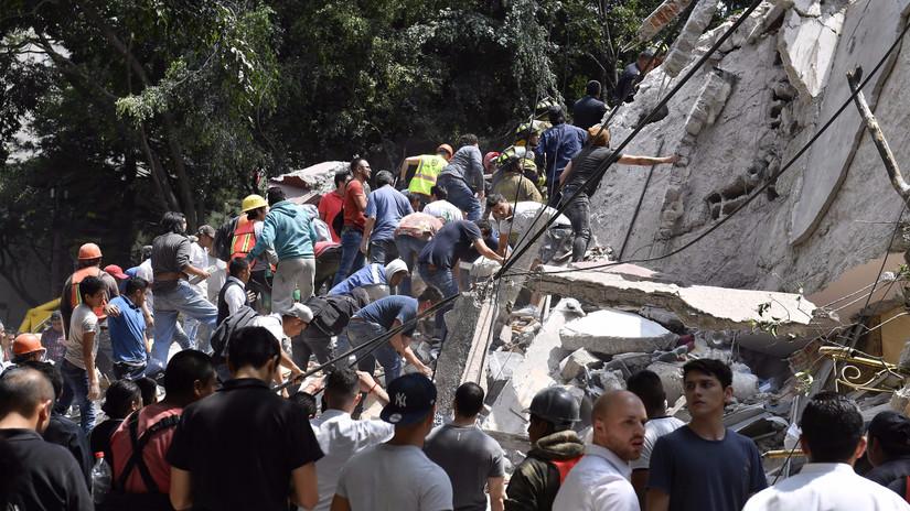 Al menos 79 muertos dejó sismo de magnitud 7.1 que sacudió México