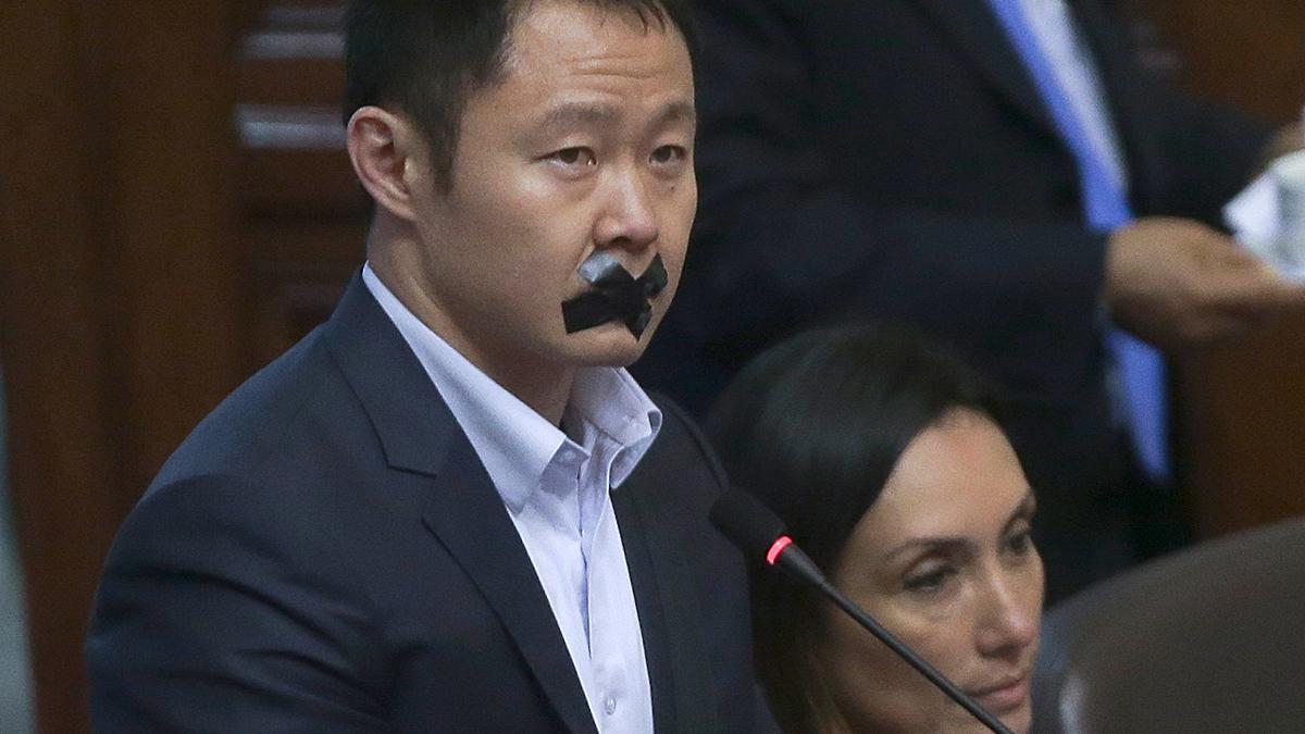 Fuerza Popular citó a Kenji Fujimori a nuevo consejo disciplinario