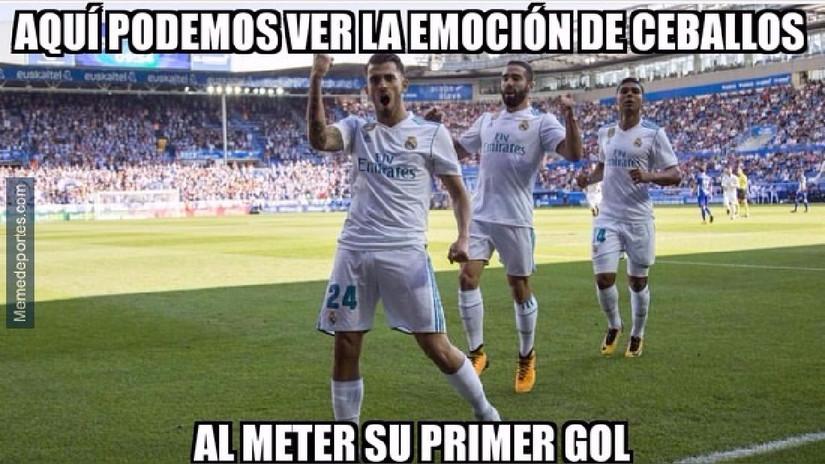 Real Madrid es víctima de memes tras derrotar al Deportivo Alavés
